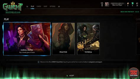 No Microtransactions on Xbox One   Gwent Closed Beta