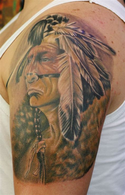 apache warrior tattoo - Google Search | Indian tattoo