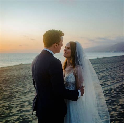 Bridgit Mendler and Griffin Cleverly tied the knot in an